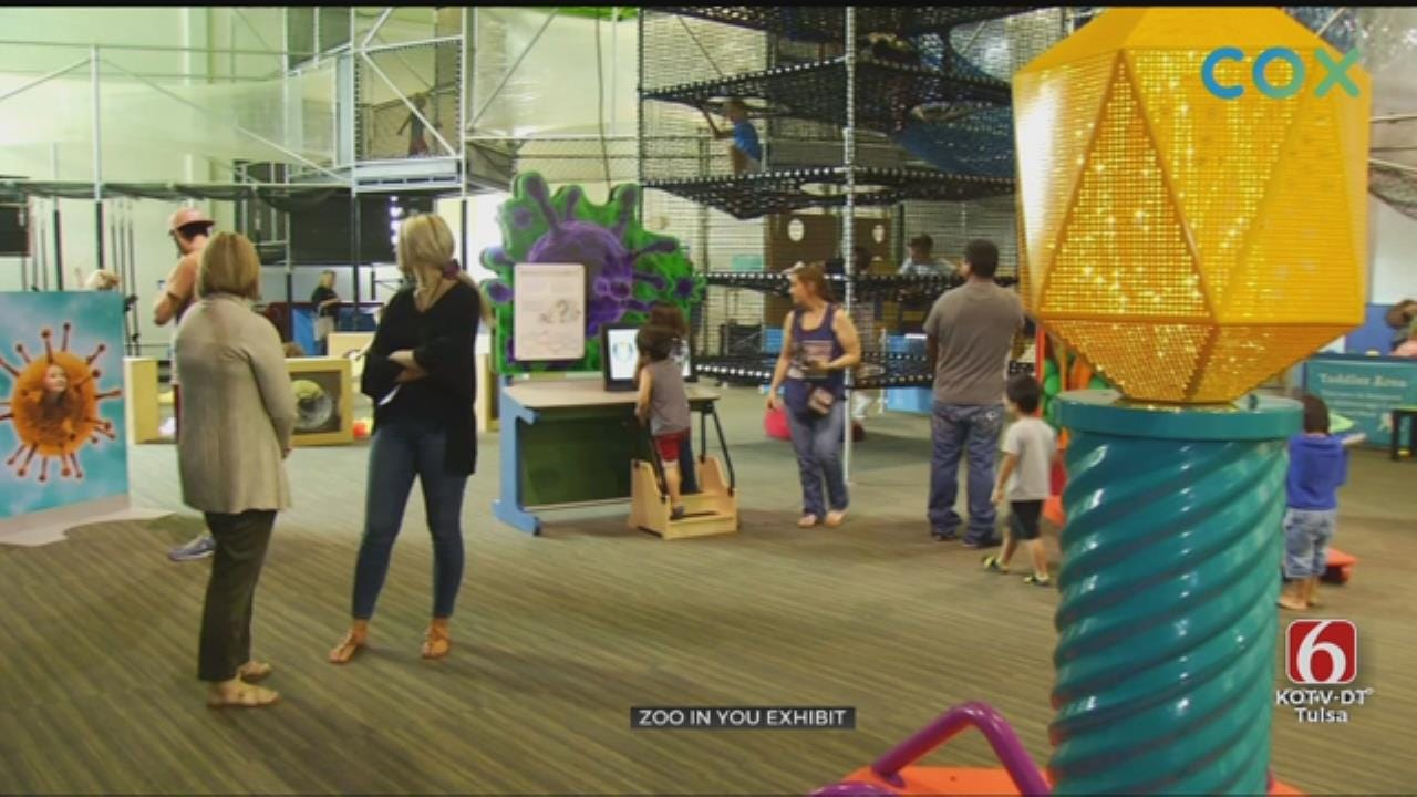 Tulsa's Discovery Lab's New Exhibit Features Your Own Microbiome
