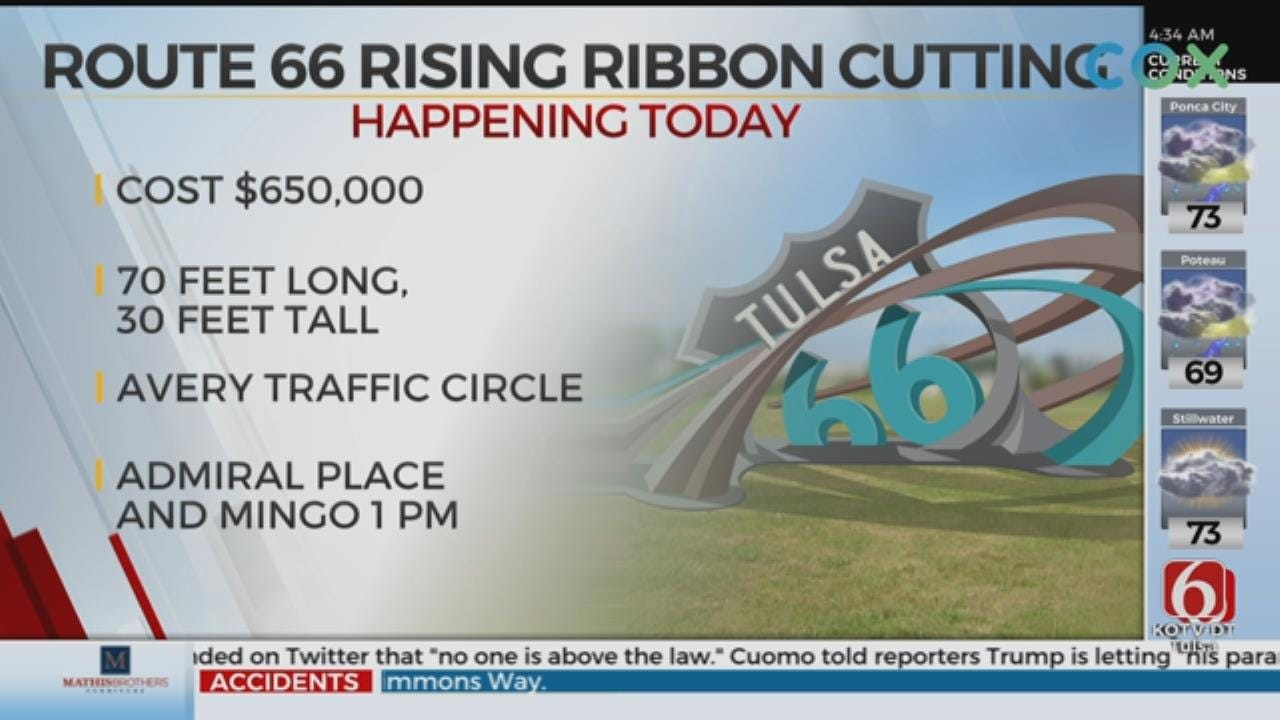 Ribbon-Cutting To Be Held For Route 66 Rising Sculpture