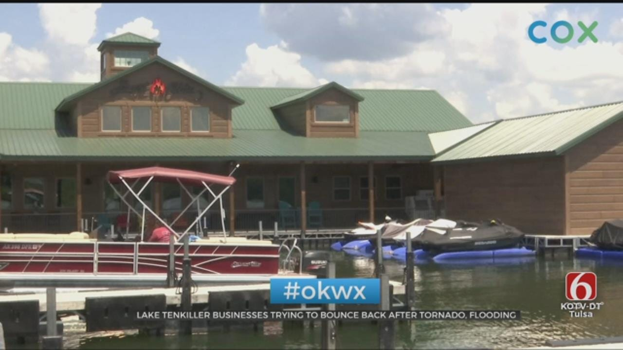 Businesses Near Lake Tenkiller Still Seeing Flooding Problems