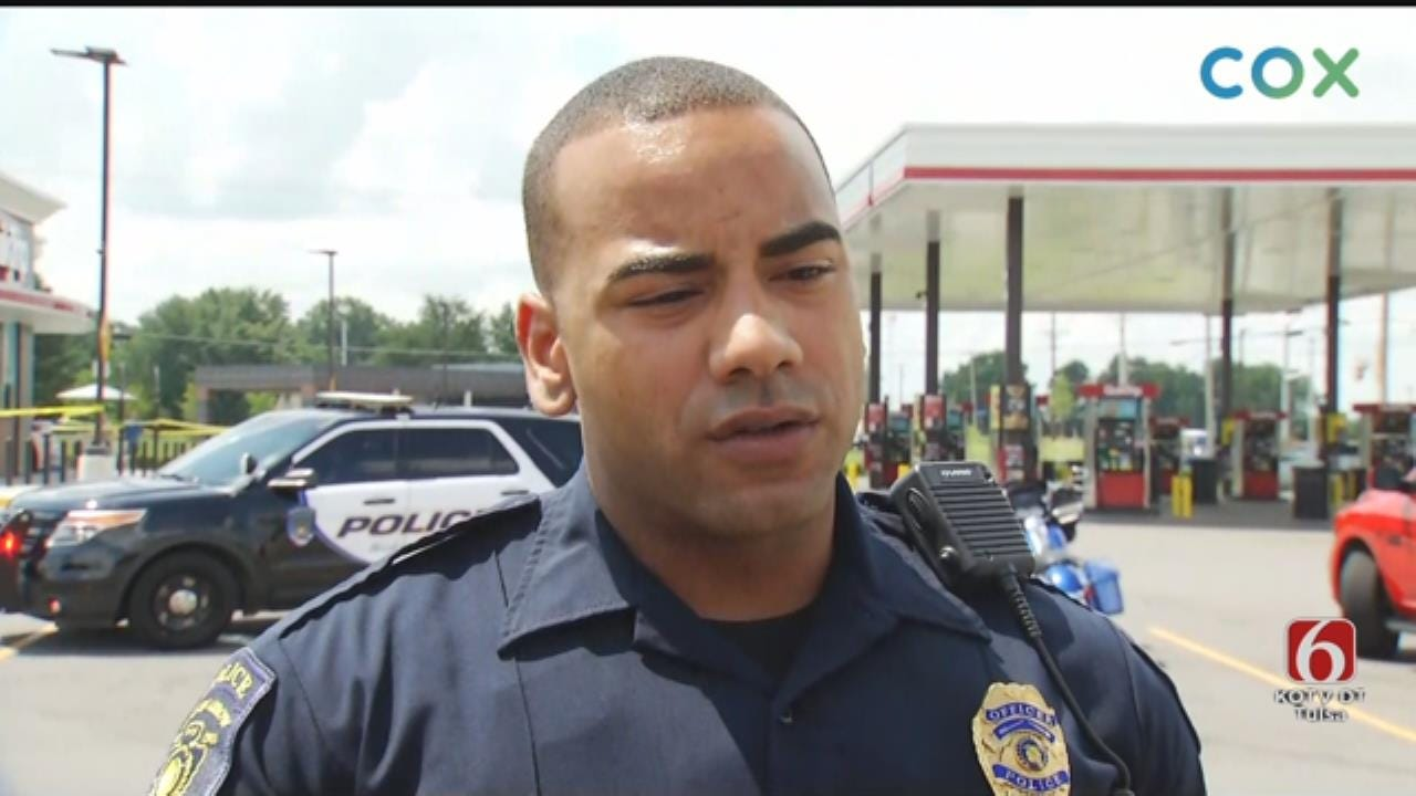 Broken Arrow Police: Standoff At QuikTrip Ends With Woman's Suicide