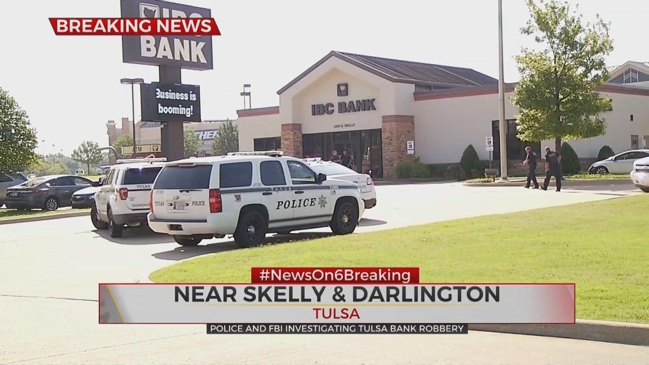 Man Wearing Disguise Robs Tulsa IBC Bank, Police Say