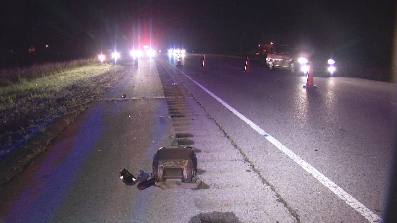 Woman Killed In Motorcycle Crash Near Inola