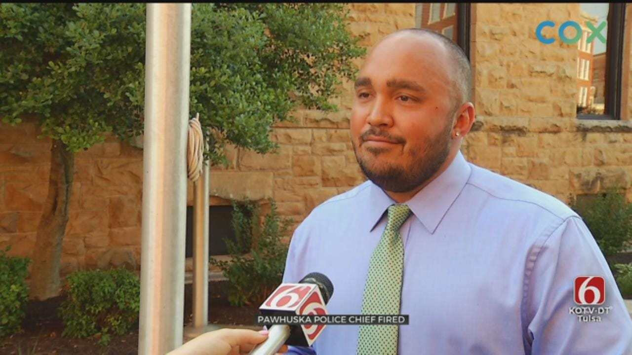 Community Upset After Pawhuska Police Chief Is Abruptly Fired