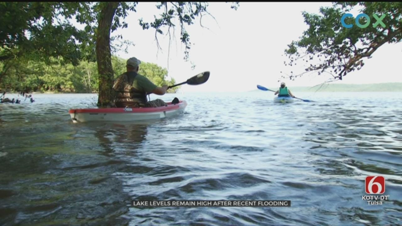 Lake Oologah Camping Not Suffering From Water Levels