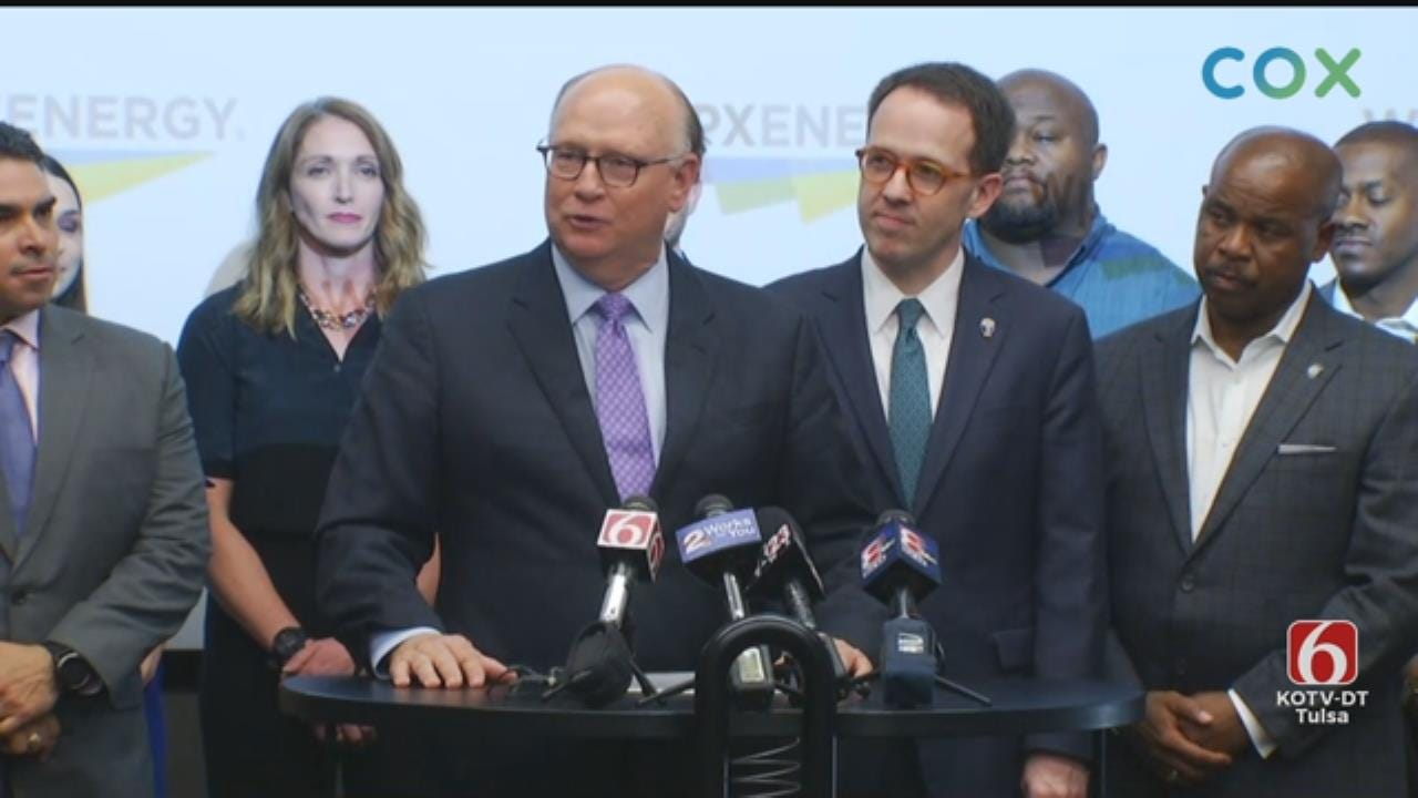 WATCH: WPX Energy Announces Plans For $100M Tulsa Headquarters