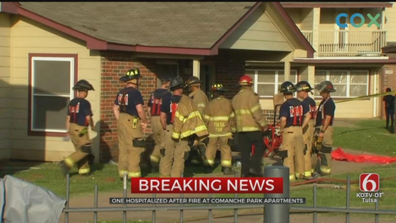 One Person In Hospital After Comanche Apartment Fire