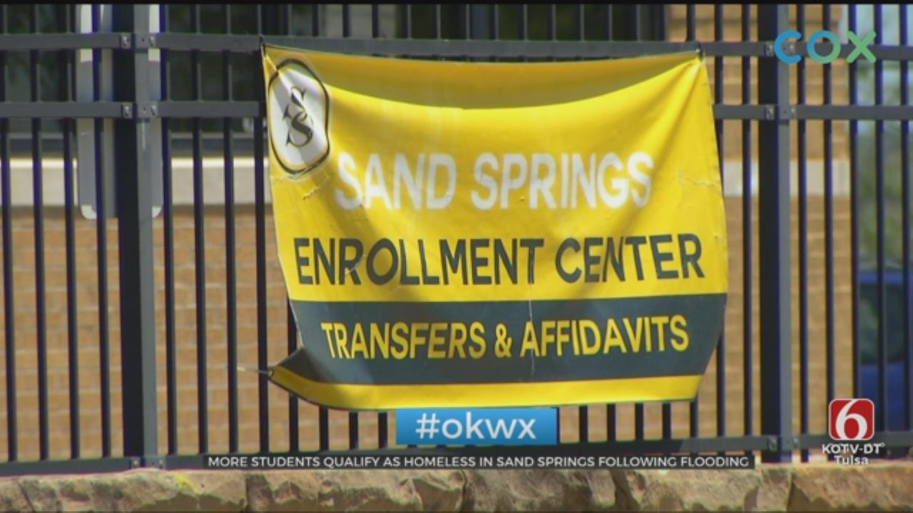 School Offers Help To Sand Springs Students Affected By Flooding