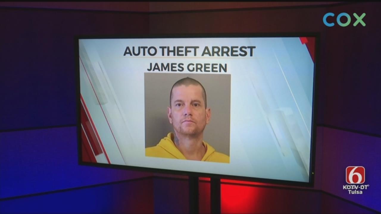 Tulsa Man Suspected Of Break-In, Truck Theft