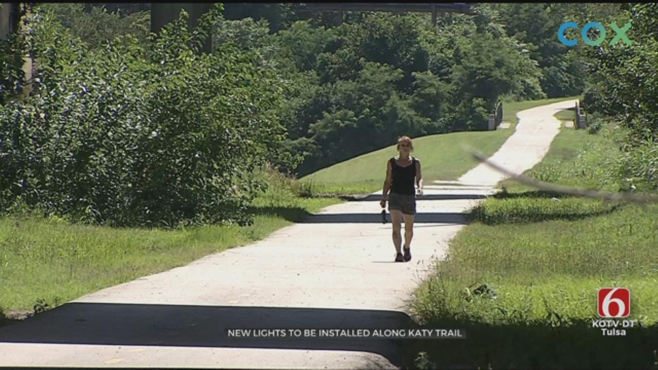 Tulsa River Parks Receives Grant To Install Lights On Katy Trail