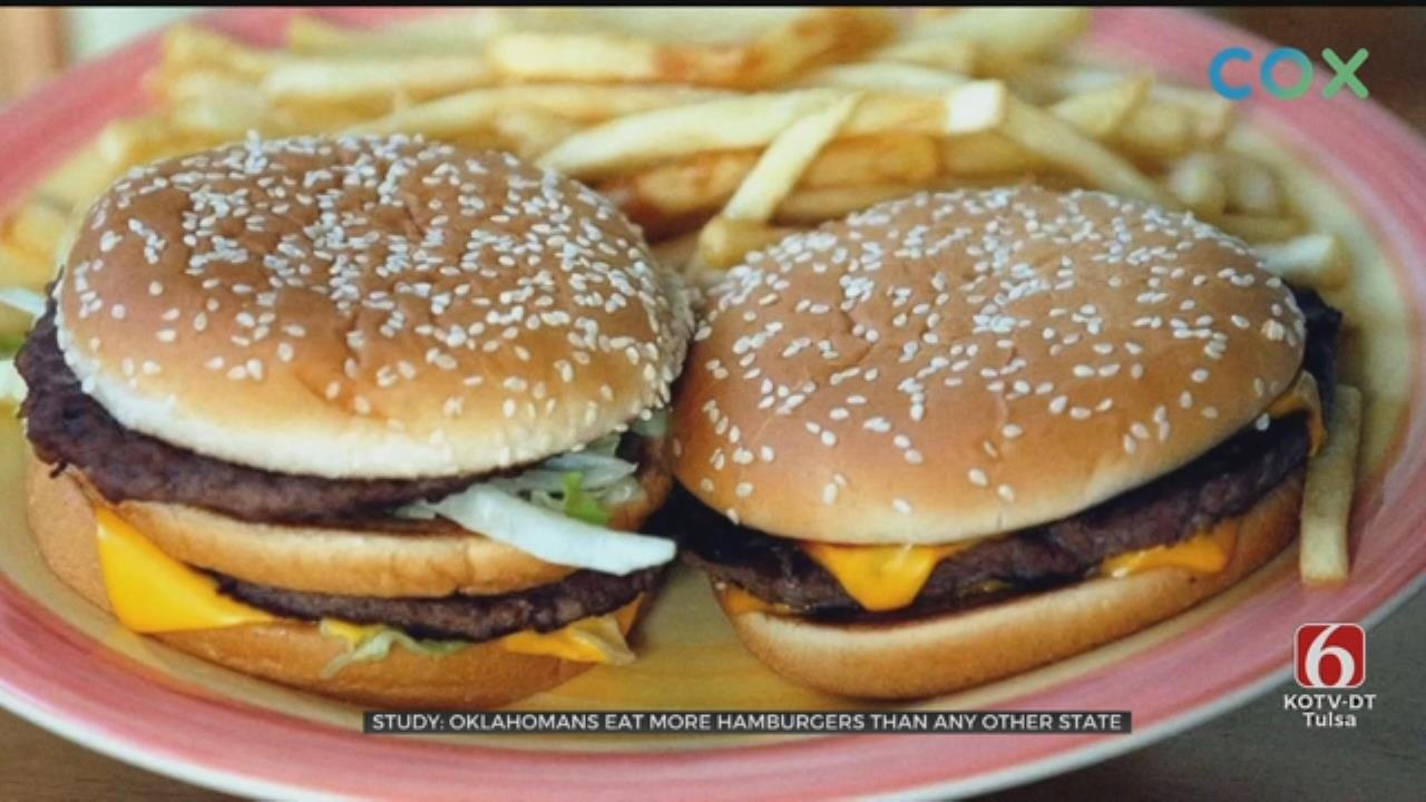 WATCH: New Study Says Oklahoma Leads The U.S. In Burger Consumption