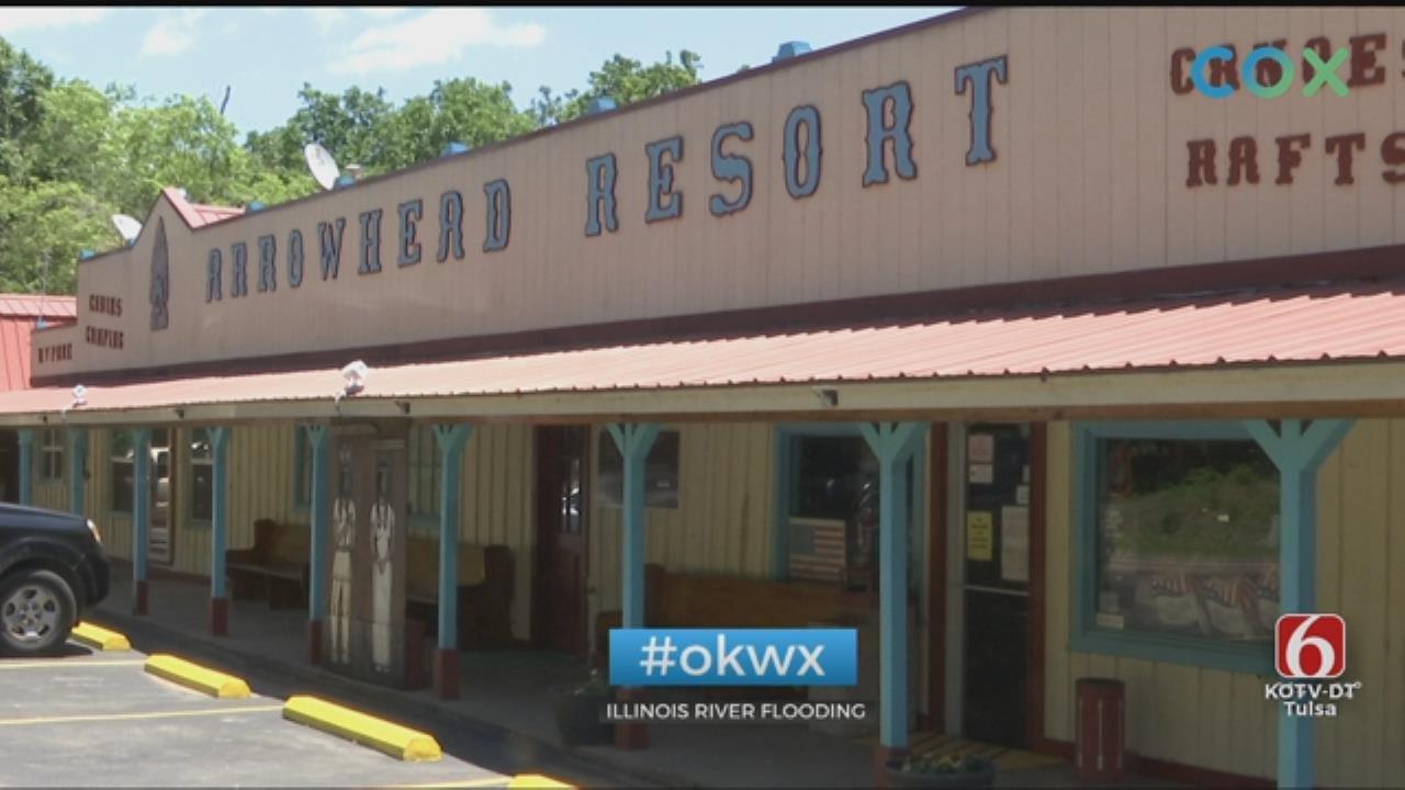 Illinois River Faces Flooding In Oklahoma
