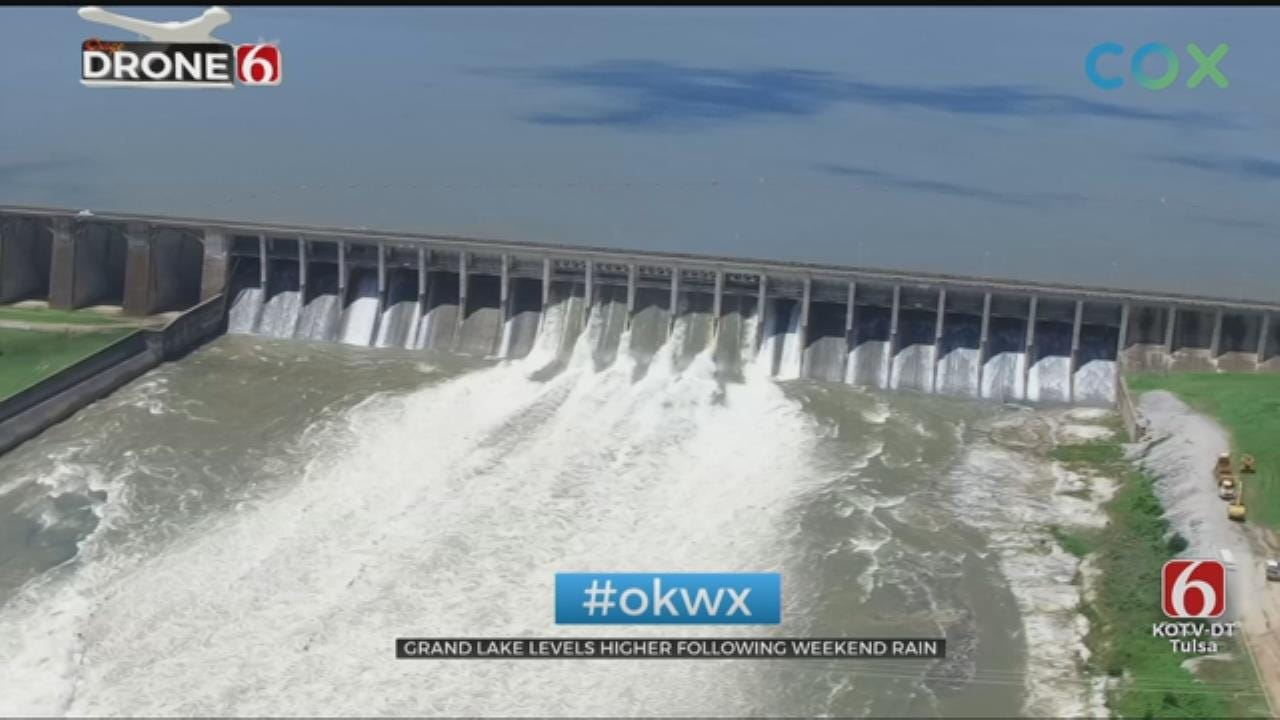 Grand Lake Releases More Water, May Flood Oklahoma Residents