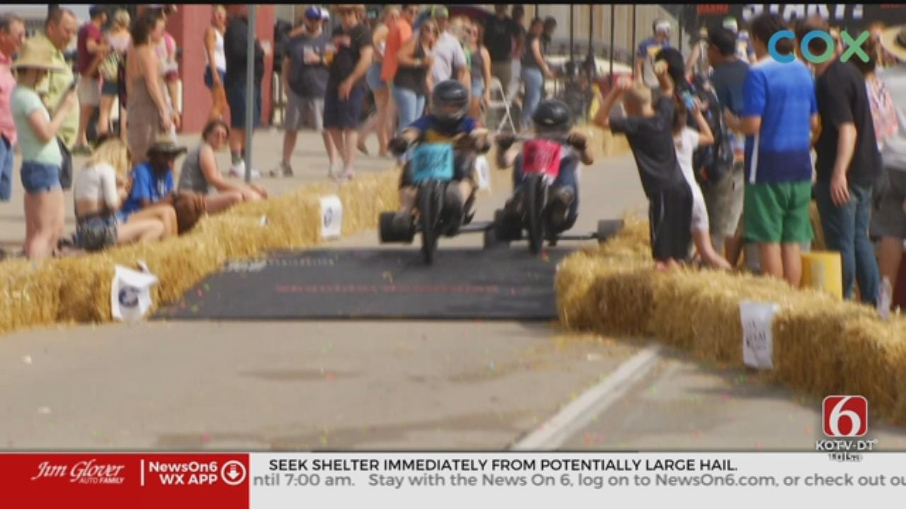 Tulsa Holds City's First Boulder Dash