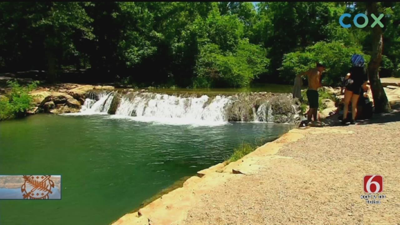 Little Niagara Among Waterfalls Drawing Visitors To Oklahoma