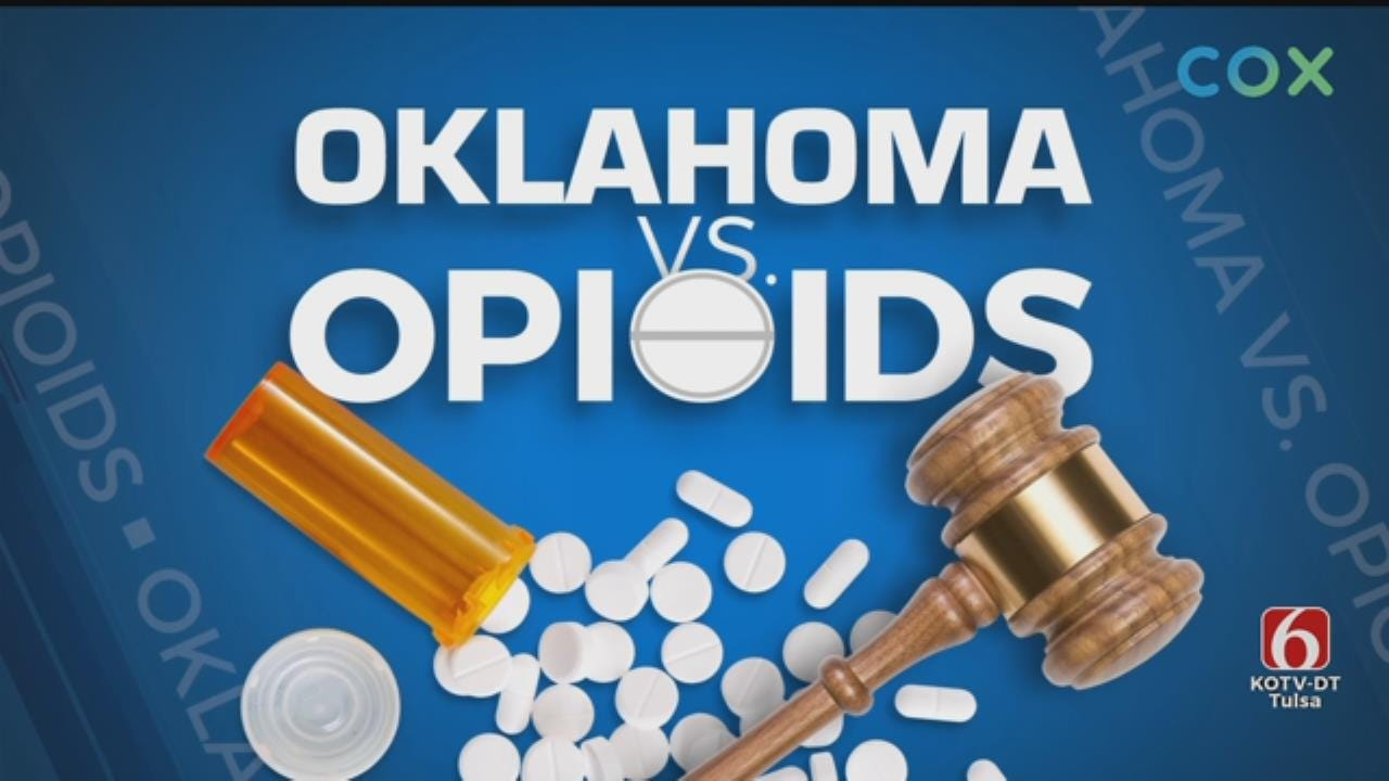 Johnson & Johnson Calls For Unavailable Witness In Oklahoma Opioid Trial
