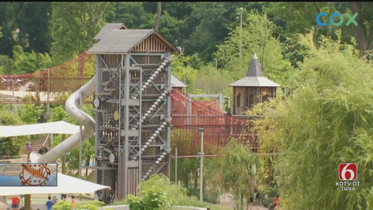 No. 1 New Attraction In America Is Tulsa's Gathering Place