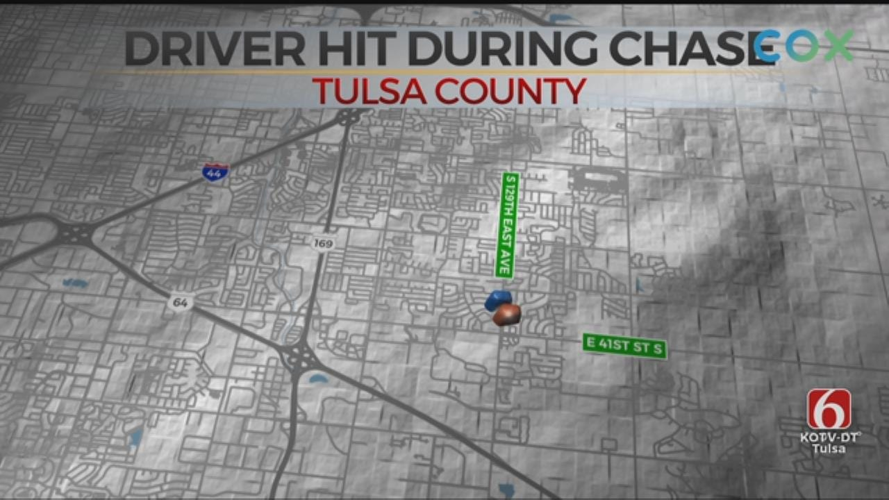 Suspect Sent To Hospital After Police Chase Ends In Crash, TPD Says