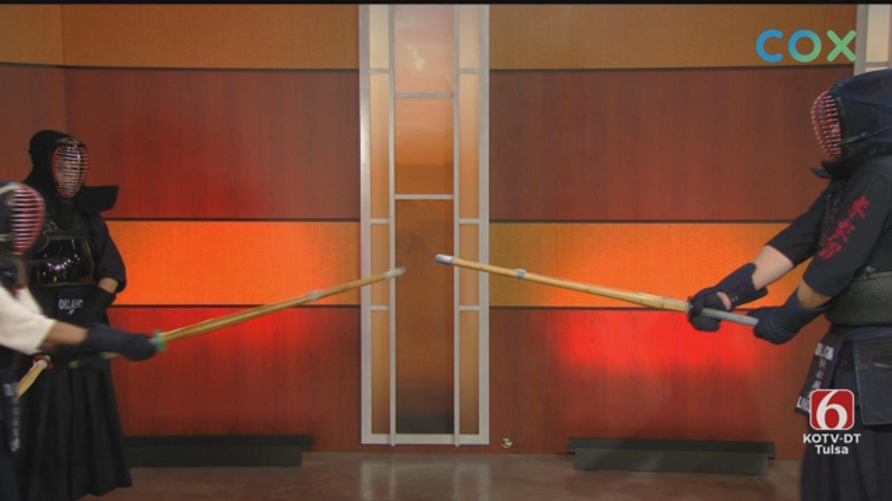 WATCH: Tulsa Kendo Demonstrates Sword Training on 6 In The Morning