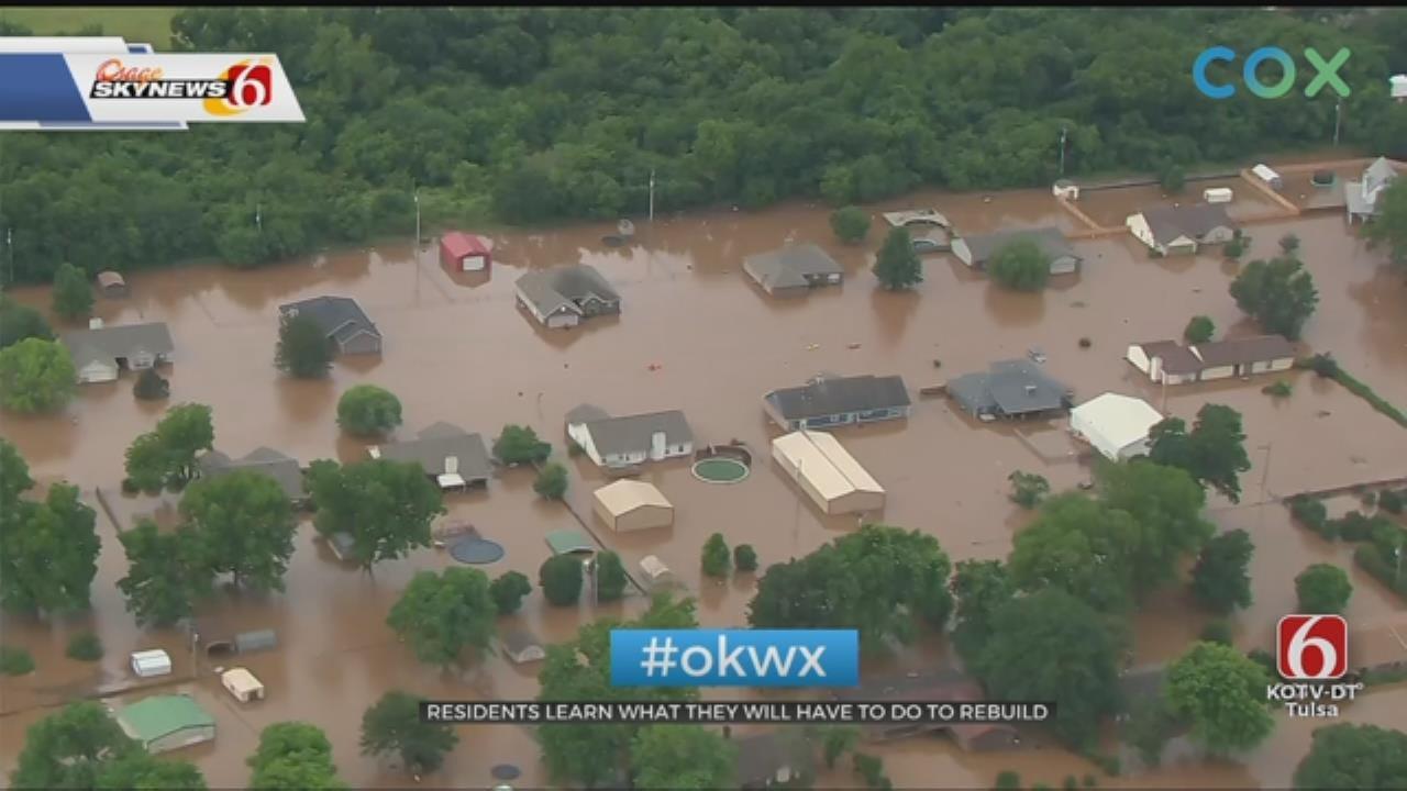 Sand Springs Neighborhood Holds Meeting For Flooding Concerns