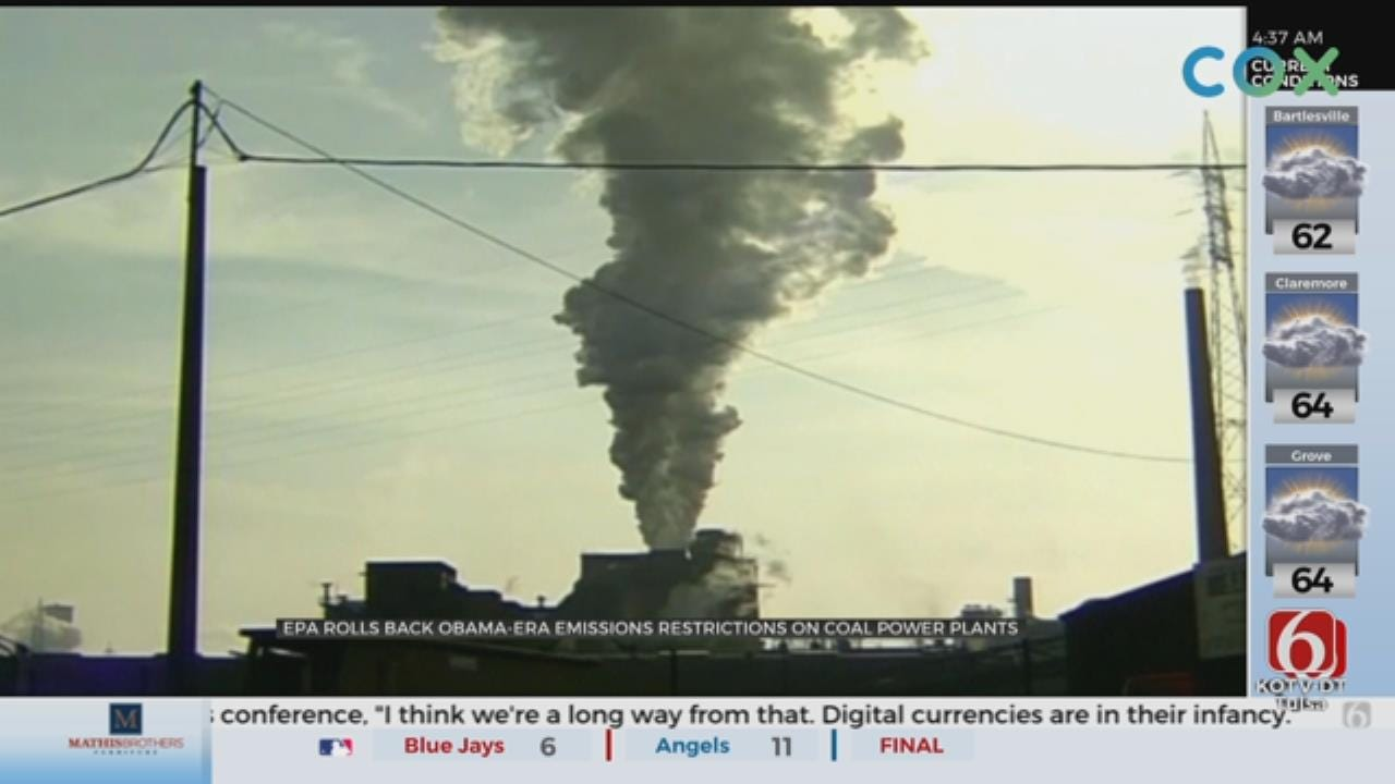 EPA Moves To Roll Back Coal-Fired Power Plant Rules
