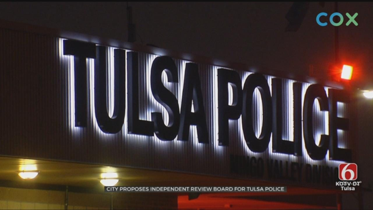 Plan Advances For Independent Tulsa Police Monitor