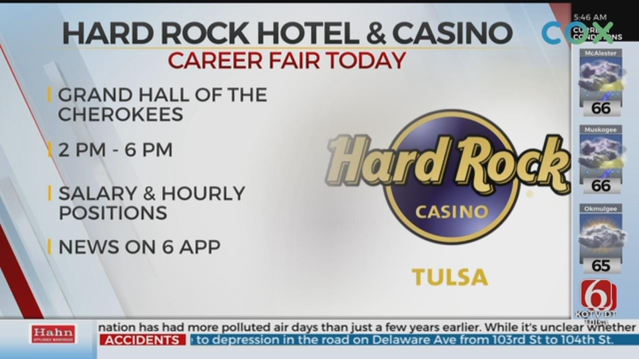 Tulsa's Hard Rock Hotel And Casino Holds Career Fair