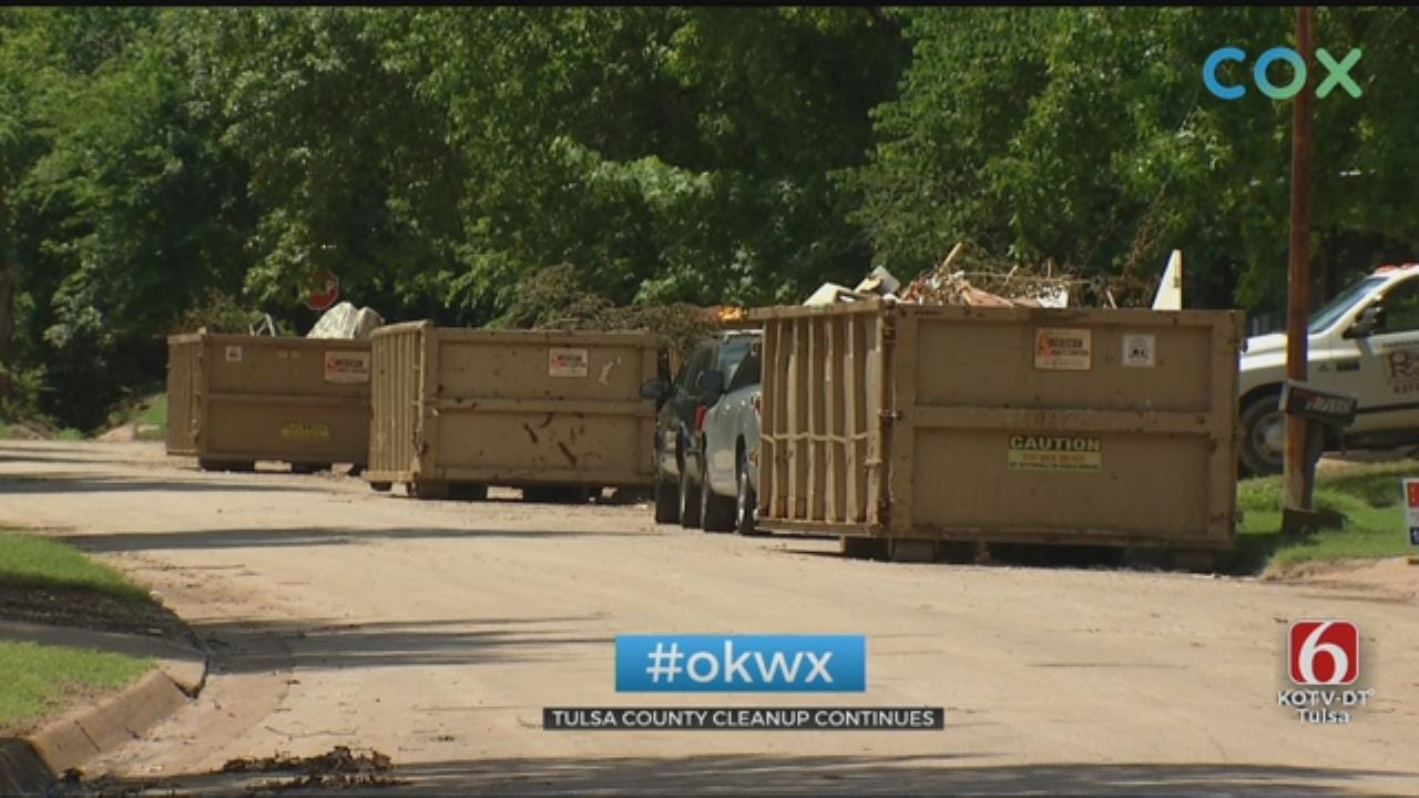 Flood Cleanup Continues In Tulsa County