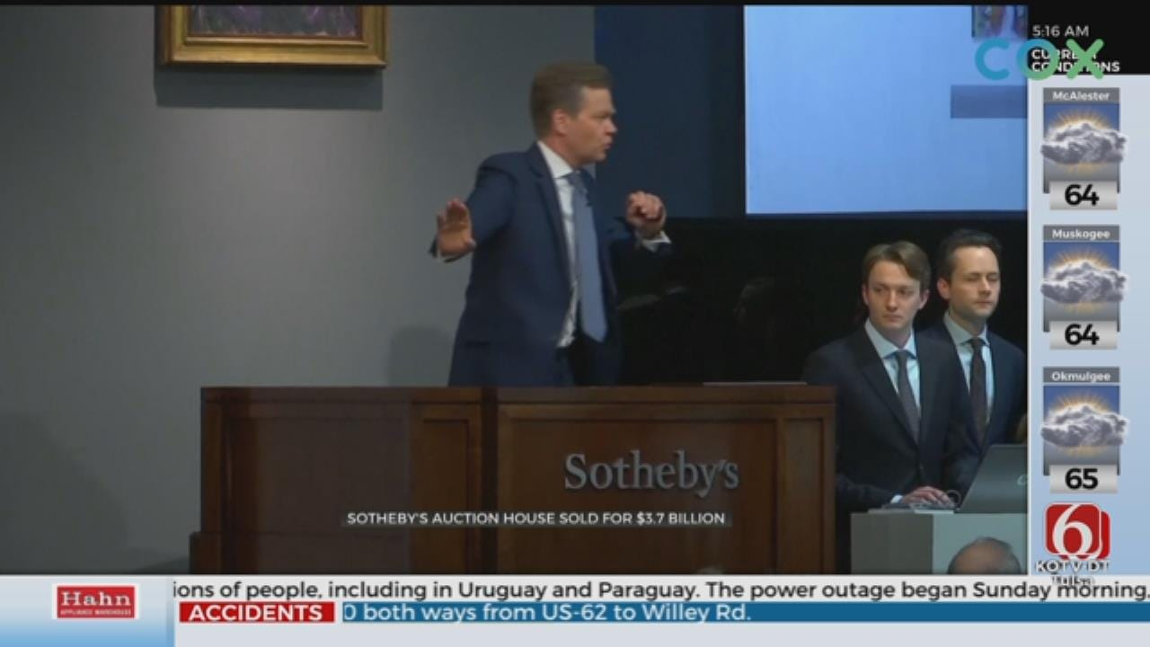 Sotheby's Acquired By Telecom Mogul For $3.7 Billion