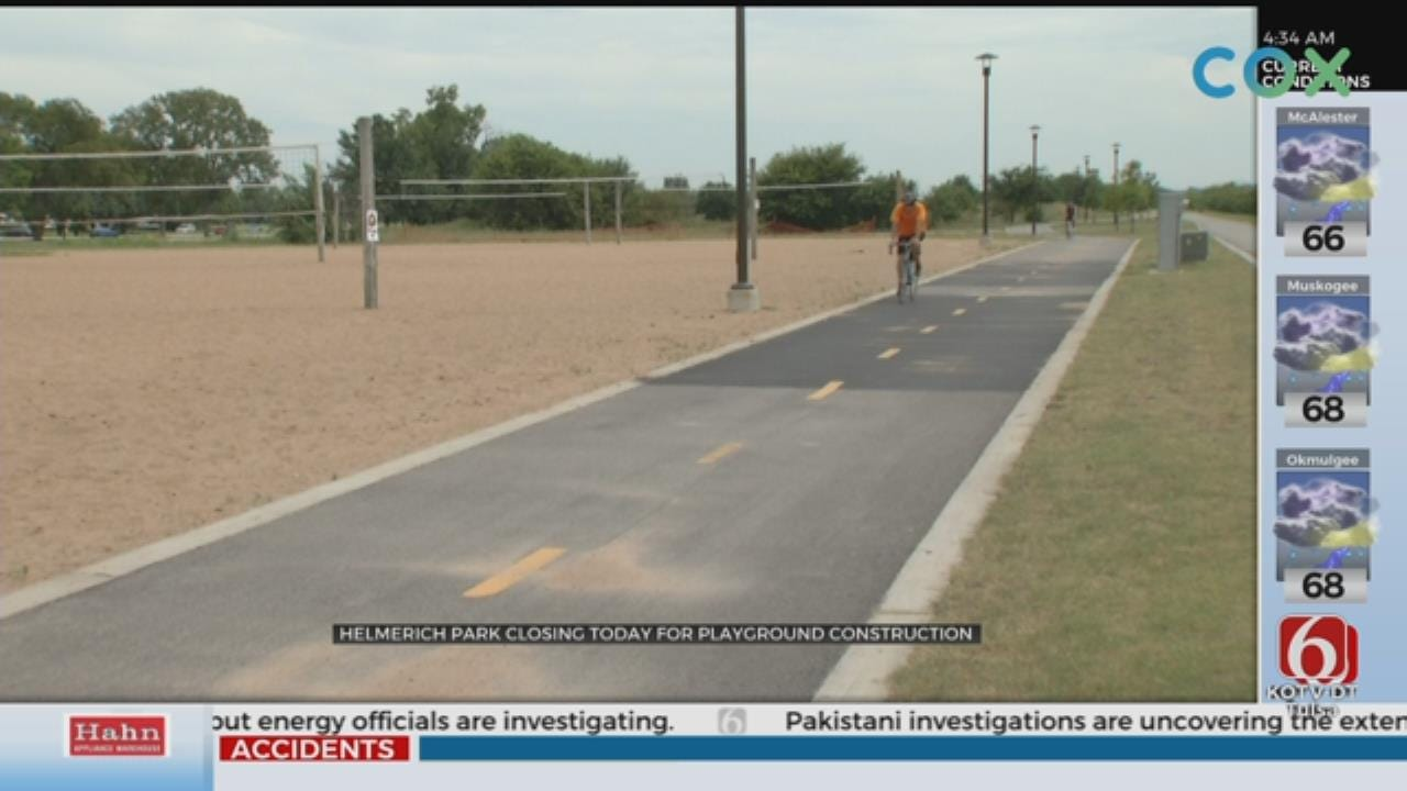 Construction Temporarily Closes Helmerich Park