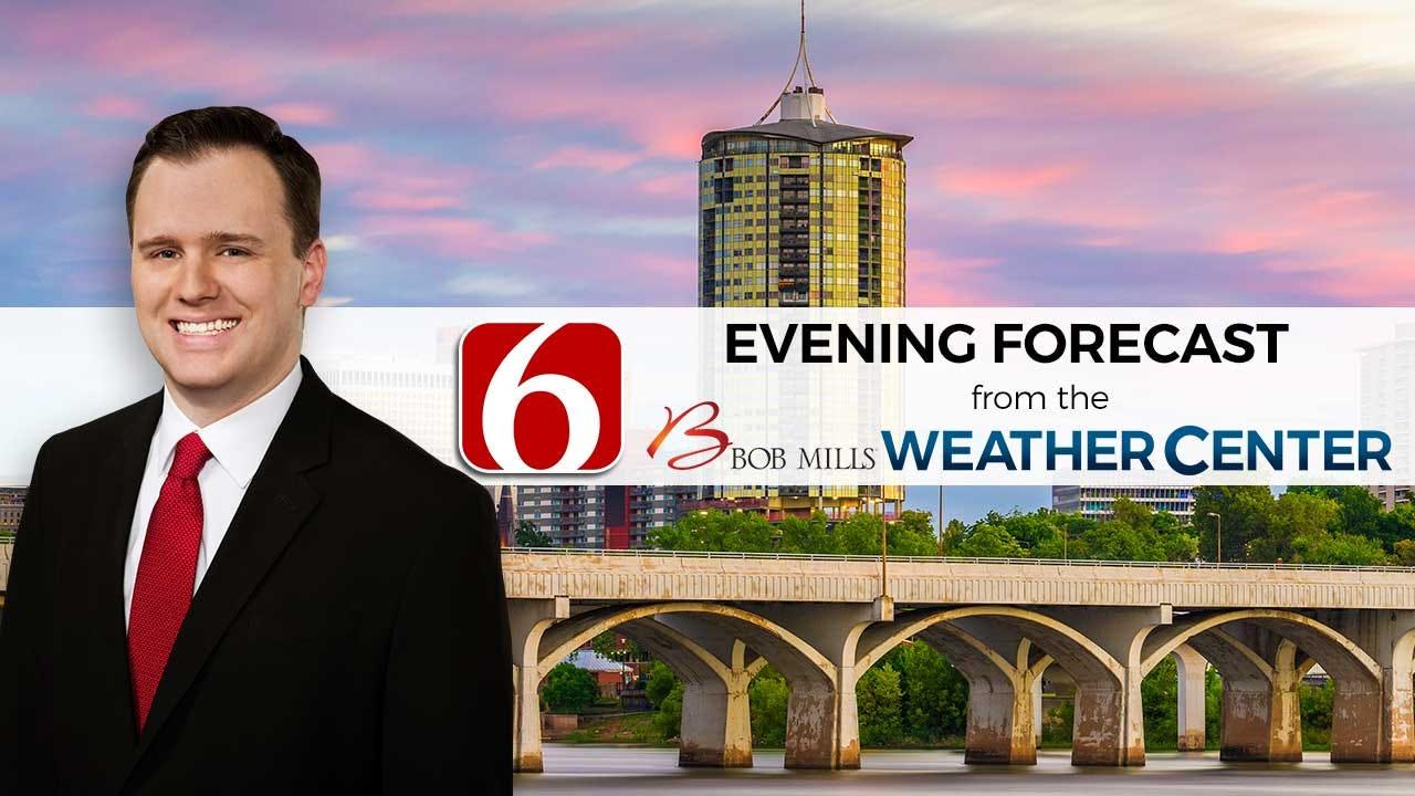 Saturday Evening Forecast With Stephen Nehrenz