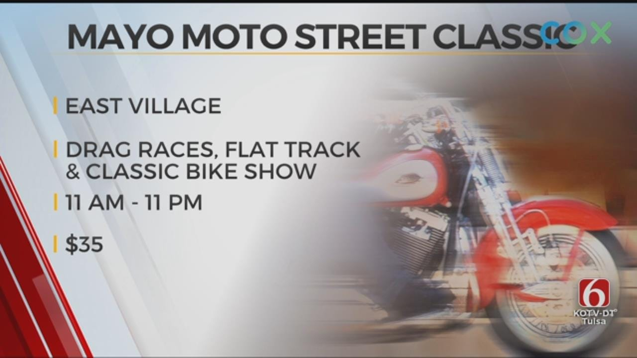 Downtown Tulsa Hosting Motorcycle Street Races