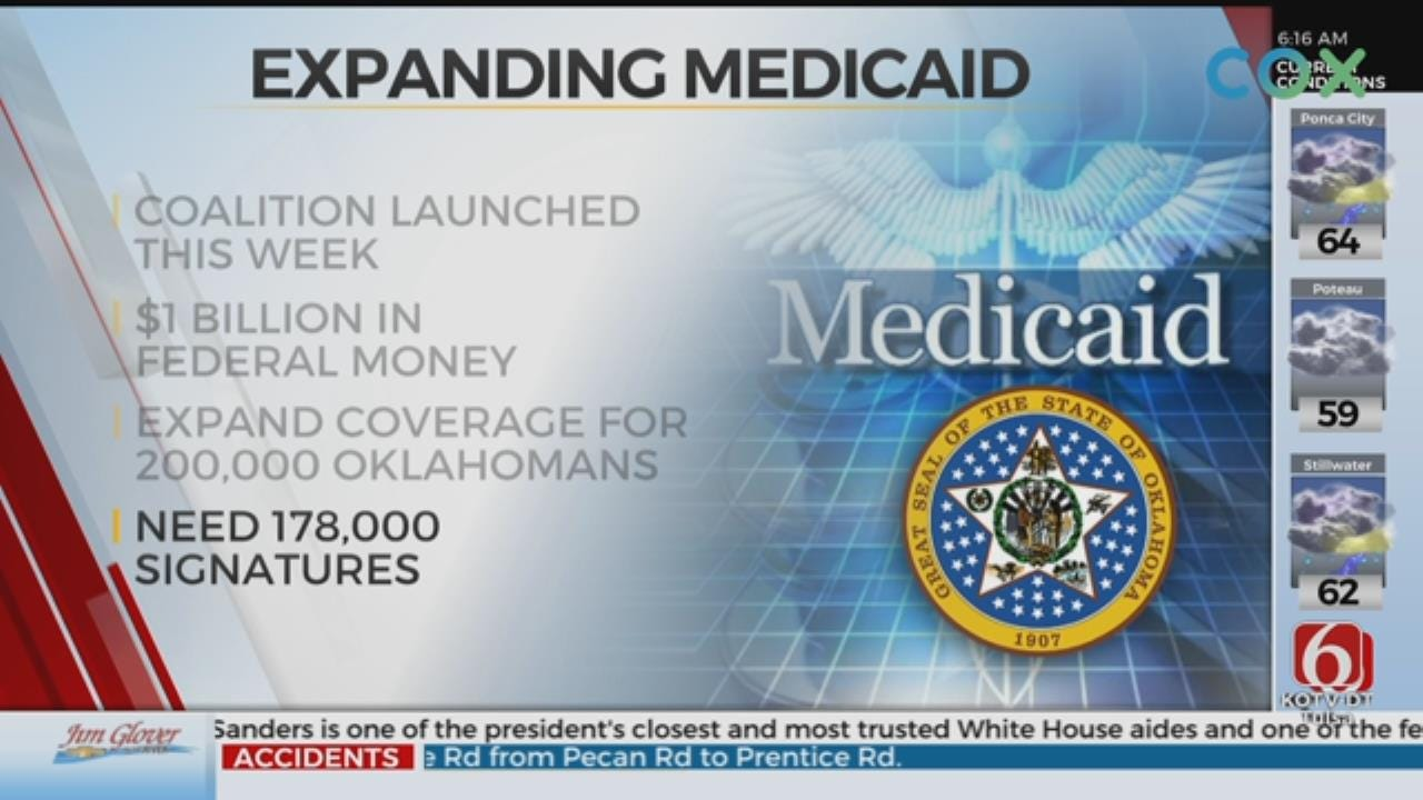 Statewide Coalition Wants To Expand Medicaid