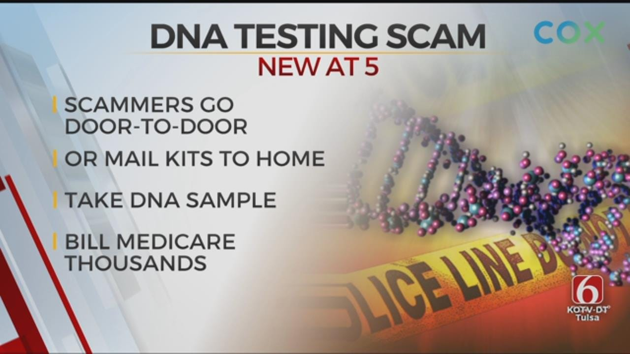Police Warn Of DNA Testing Scam