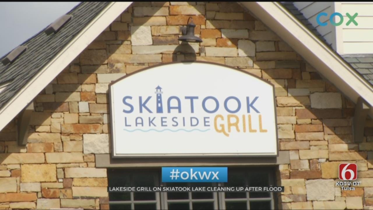 Skiatook Lake Restaurant Works To Reopen After Flooding