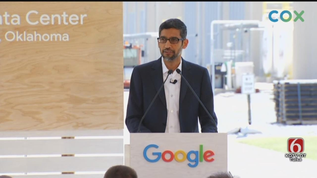 Google Announces More Investment In Pryor Facility