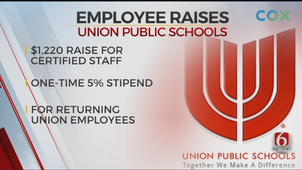All Union Public Schools Employees To Receive Raise