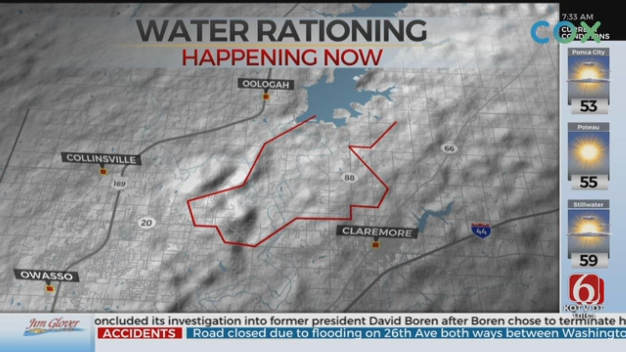 Mandatory Water Rationing Continues For Parts Of Rogers County