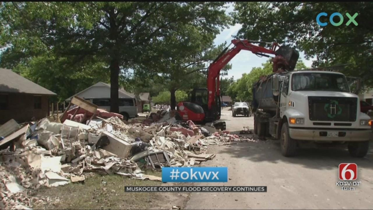 Years Of Memories Destroyed By Fort Gibson Flooding