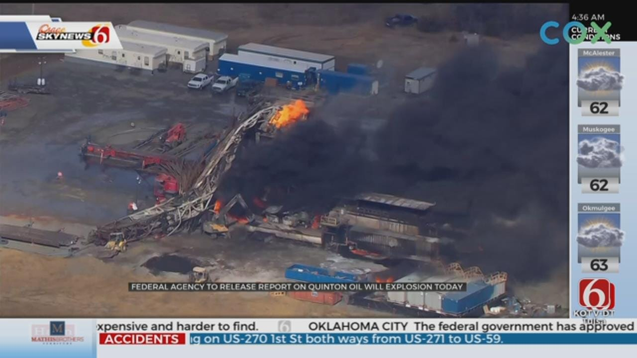 Independent Agency To Release Report On Deadly 2018 Quinton Drilling Rig Explosion