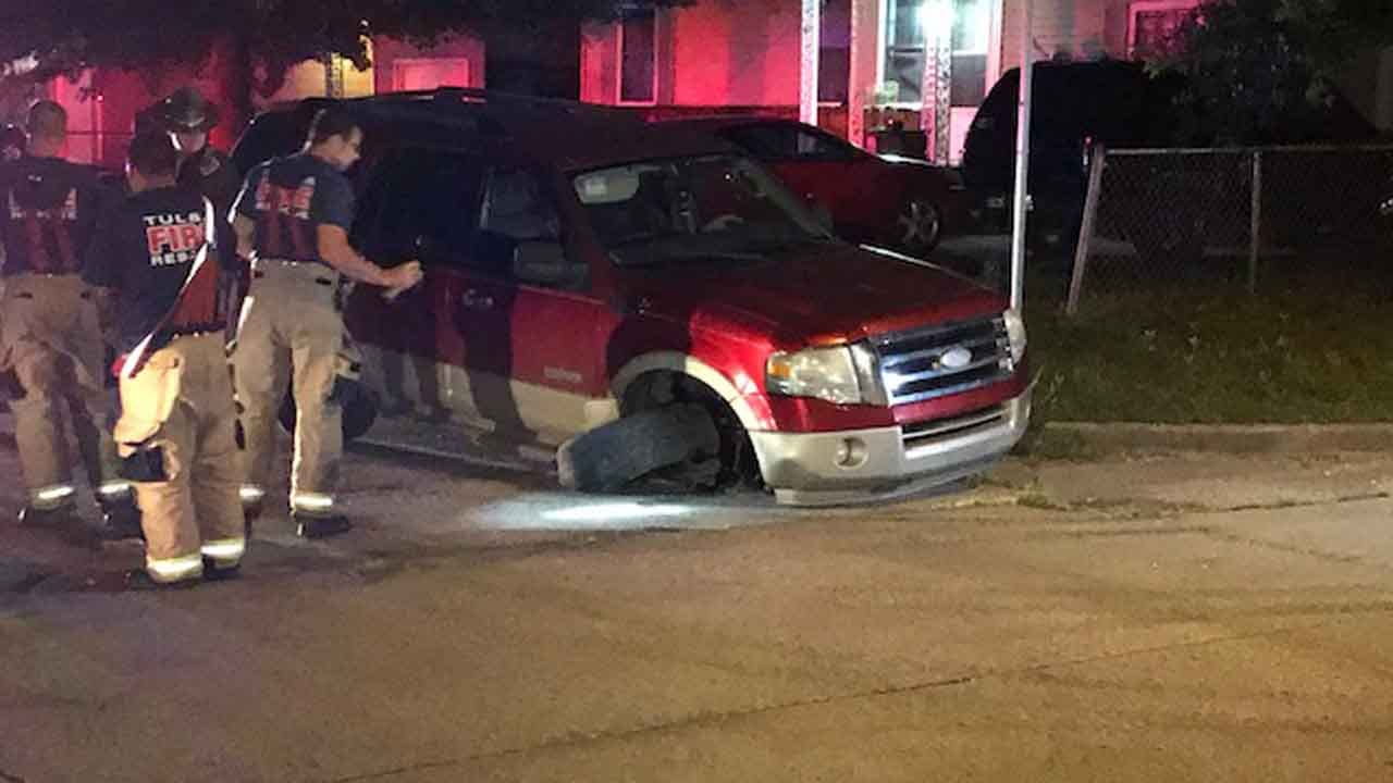 Driver In Custody After Catoosa Police Chase Ends In Tulsa