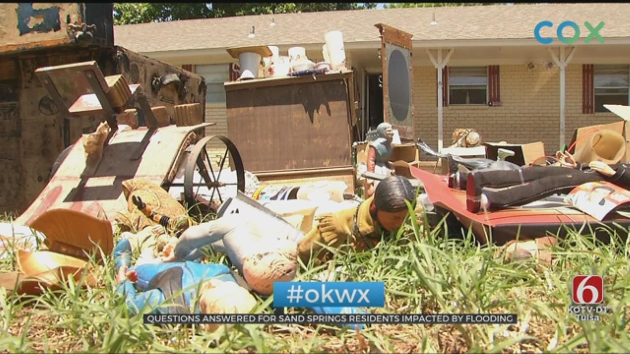 Questions Answered For Sand Springs Residents Impacted By Flooding
