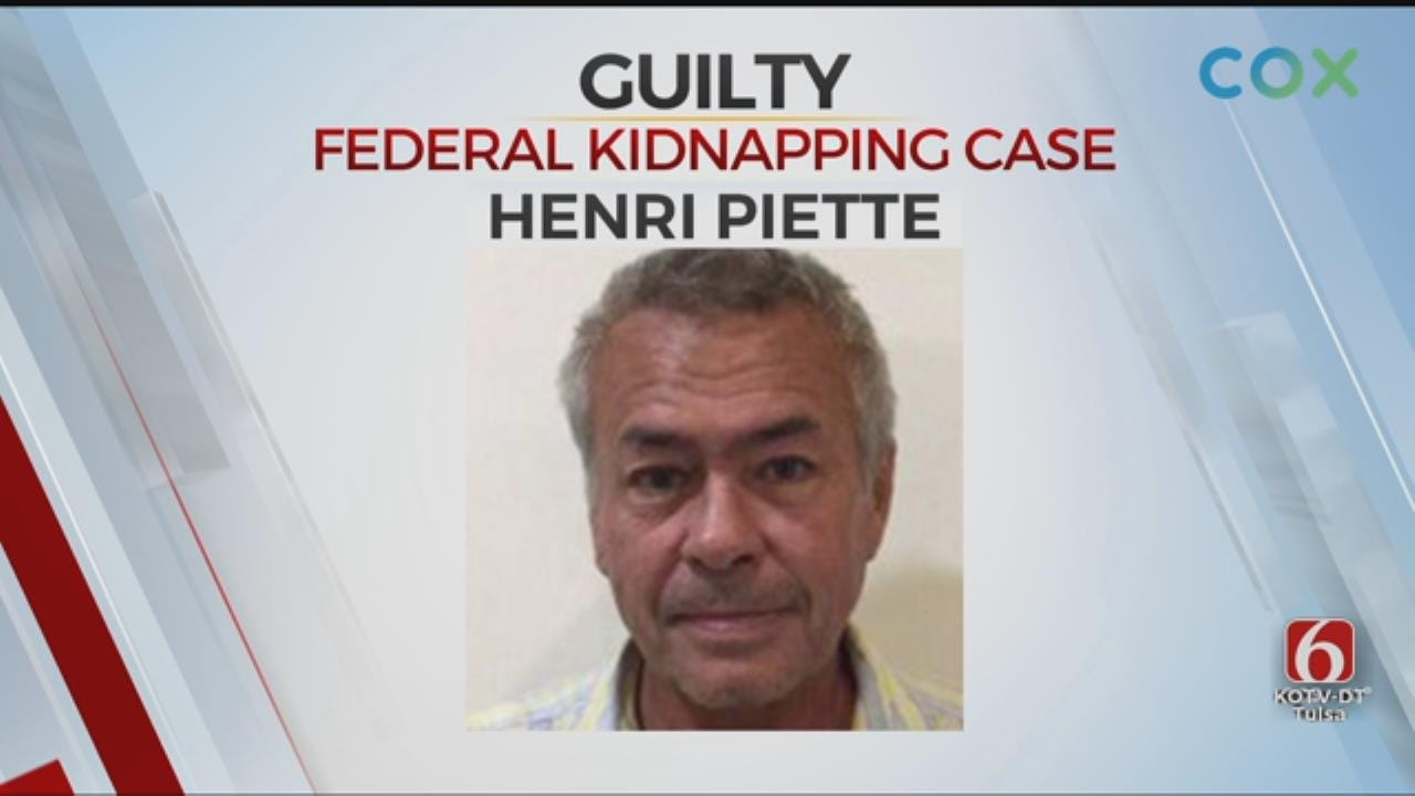 Man Found Guilty Of Kidnapping Poteau Girl In 1997