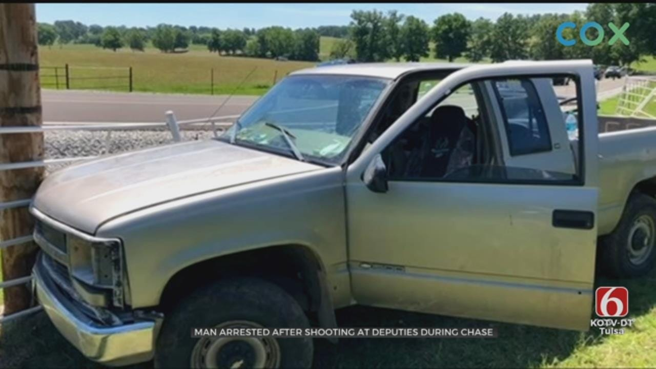 Ottawa County Man Arrested After Shooting At Deputies During Chase