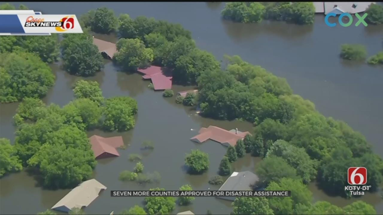 Federal Assistance Granted For 7 More Oklahoma Counties