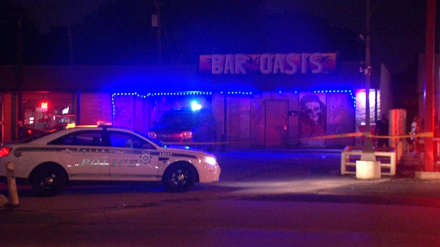 Police Investigating Overnight Shooting At Tulsa Bar