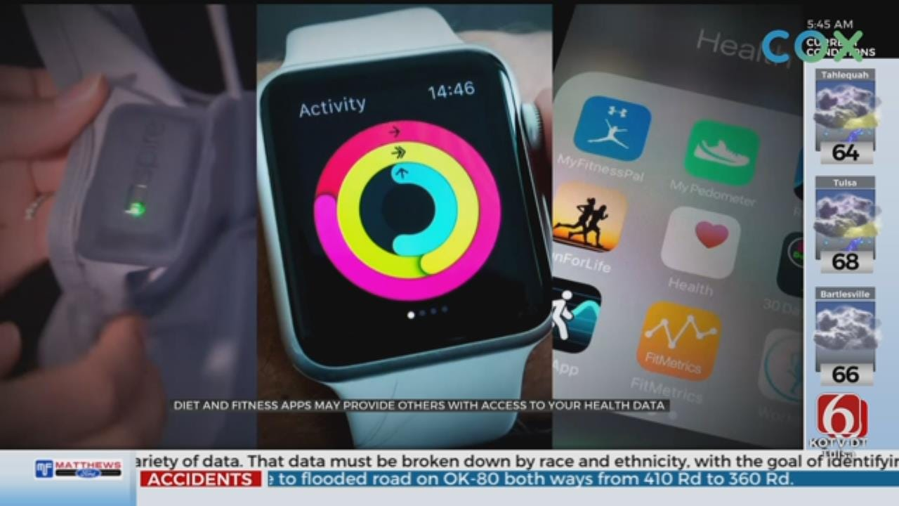 Diet And Fitness Apps Raise Privacy Concerns