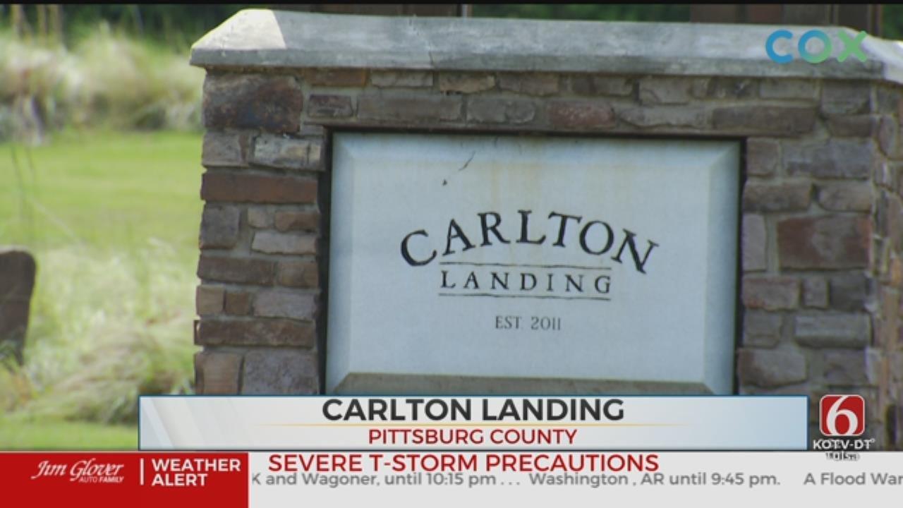 DEQ Launches Investigating In Lake Eufaula's Carlton Landing Resort Town