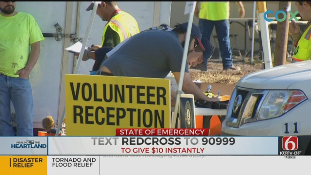 Help For Oklahoma Comes Statewide, Nationwide