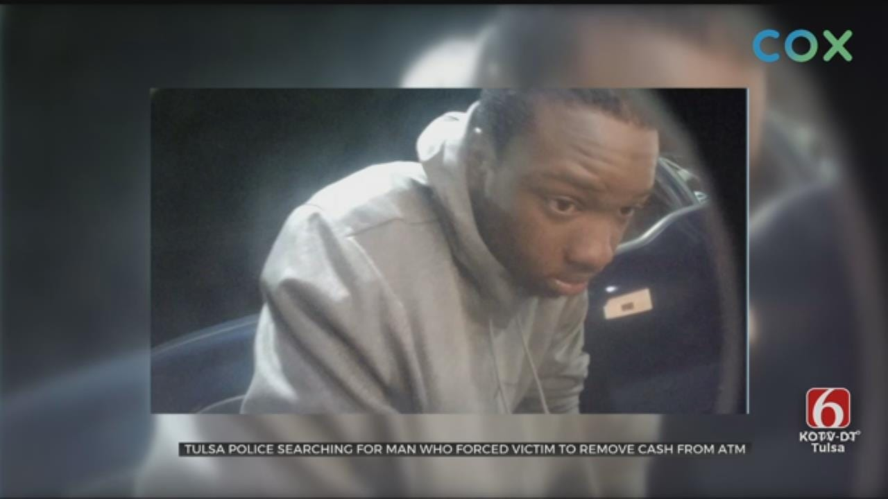 Tulsa Man Robbed, Forced To Withdraw Money From ATMs