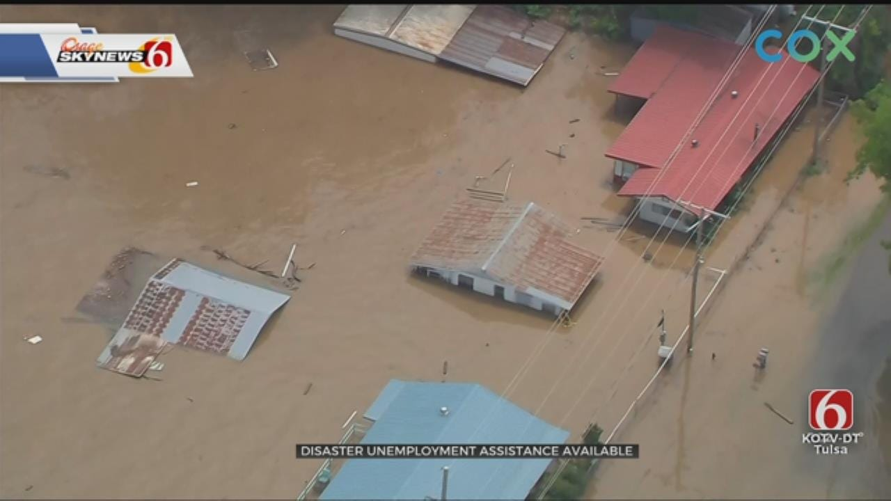 Oklahoma Flood Victims May Be Eligible For Unemployment Assistance